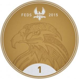 2015 Flying Eagle Disc Society Bag Tag
